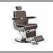 Парикмахерское большое мужское кресло с рычагом управления-Valencia, фото 2