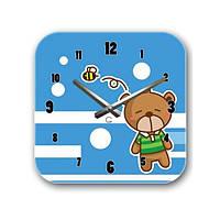Настенные часы детские Мишутка