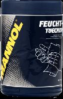 Освежающие салфетки Mannol Feuchttuecher 80шт