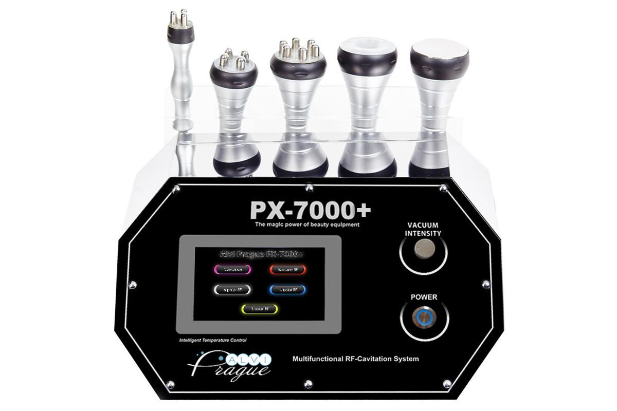 Аппарат RF лифтинга,вакуума,кавитации- AlviPrague PX-7000+