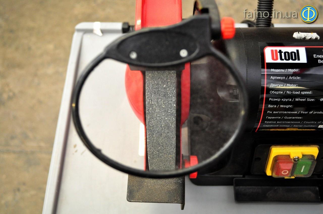 Точильно-шлифовальный станок Utool UBG-200 фото 5