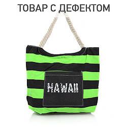 Жіноча сумка для пляжу B1268BGblack-green