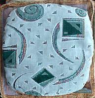 Подушка на табурет Геометрия, комплект 4 шт.