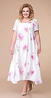 Платье Romanovich-1-1332/3 белорусский трикотаж, белый, 48, фото 1