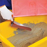 Кельма каменщика из нержавеющей стали с деревянной ручкой 490 Hassan, фото 1