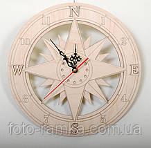 Годинник 30 см компас