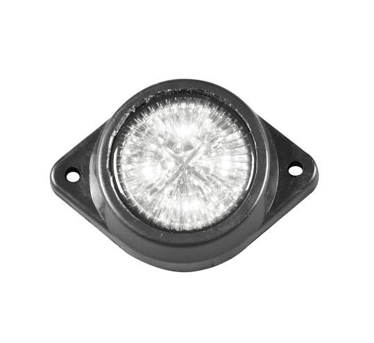 Габаритный фонарь светодиодный 12-24V белый/L0036W/2108