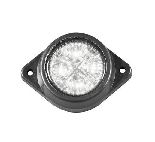 Габаритный фонарь светодиодный 12-24V белый/L0036W/2108, фото 2