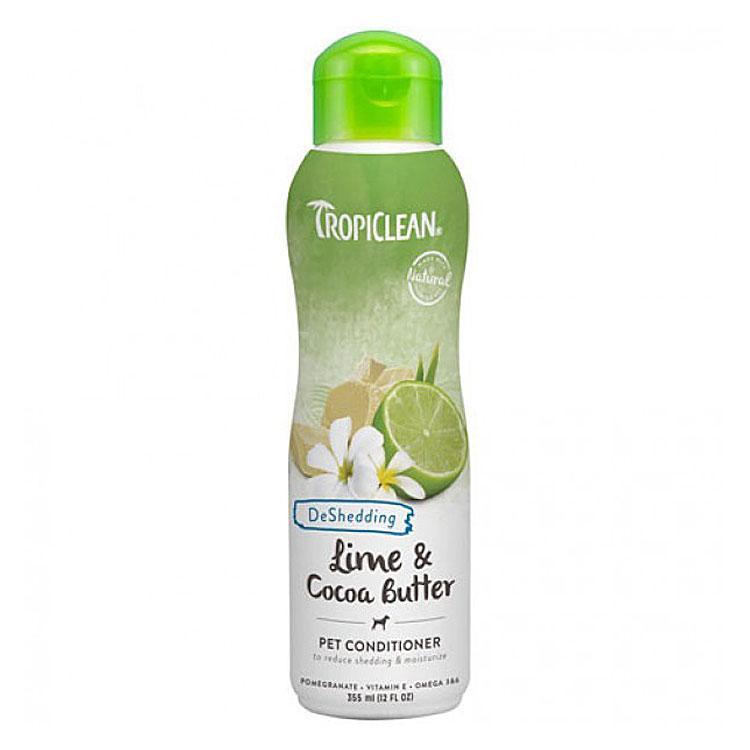 Кондиціонер TropiClean Lime & Cocoa Butter Pet Тропіклін Лайм і масло какао 355 мл