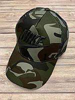 "Кепка ""тракер"" взрослая NIKE хб/сетка 57-59 см"