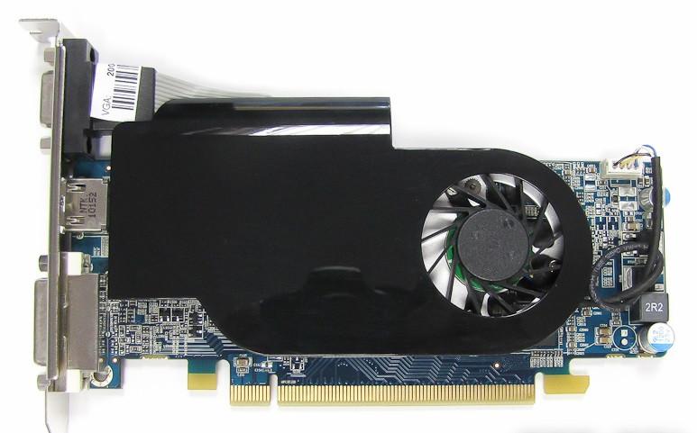 Видеокарта Pci-E AMD RADEON HD 5570 на 1 GB  и 128 BIT c HDMI и ГАРАНТИЕЙ ( HD5570 1GB )
