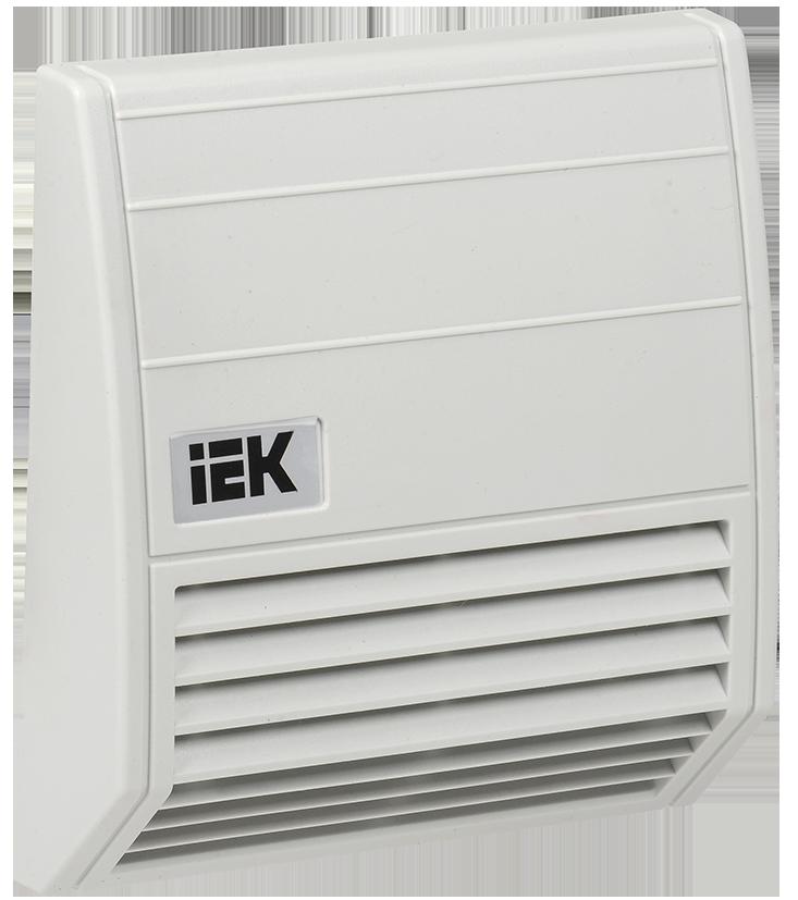 Фильтр c защитным кожухом 176x176мм для вент-ра 102м3/час IEK