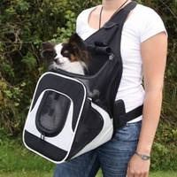 Рюкзак-переноска Trixie Кенгурятник для животных до 10 кг, 30х26х33