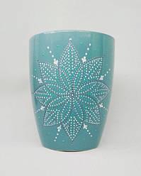 Чашка бирюзовая 330 мл