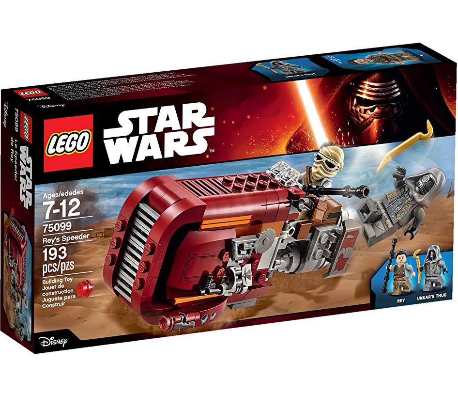 LEGO Star Wars Боевой танк Спидер Рей Лего звездные войны 75099