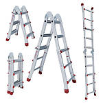 Лестницы алюминиевые