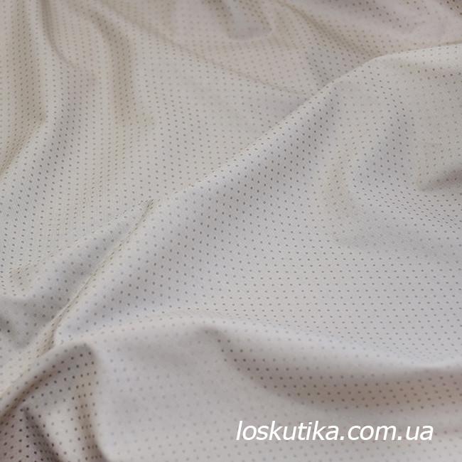 51001 Бронзовая. Ткани для шитья и декорирования. Ткань в горошек. Натуральный хлопок.