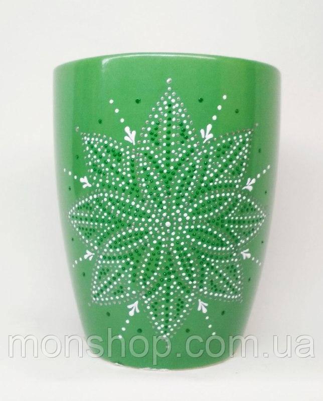 Чашка зеленая 330 мл
