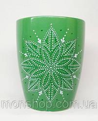 Чашка зелена 330 мл