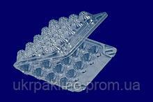 Одноразовая упаковка для перепелиных яиц арт. 28 j