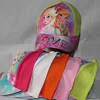 Кепка для девочек  р-р 52 (разные расцветки) оптом недорого. Одесса.