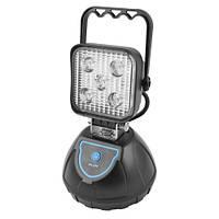 Прожектор светодиодный WJ004-5XPE + мигалка, 4x18650, ЗУ micro USB, 600 LM