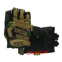 Перчатки тактический короткопалые Mechanix M-Pact HF CAMO L