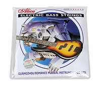Струны для бас-гитары Alice A606-4 medium electric bass strings 45-105, фото 1