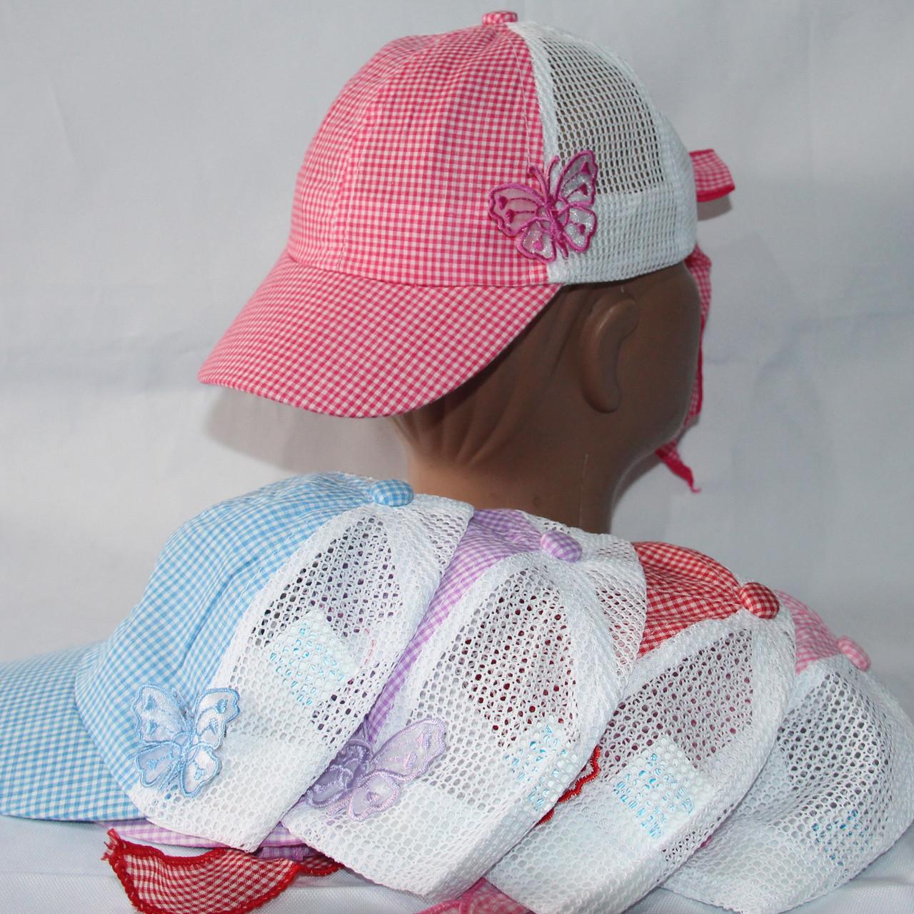 Кепка для дівчаток р-р 50 (різні кольори) оптом недорого. Одеса.