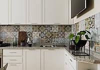Кухня белая с фрезерованными фасадами , фото 1
