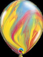 """Воздушные шары Агат Qualatex 11"""" (28 см) 5 шт"""