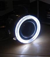 Линза G5 Morimoto с Ангельскими глазками для мотоциклов 1 штука.