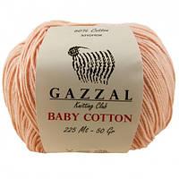 Пряжа Gazzal Baby Cotton 3412 для Ручного Вязания