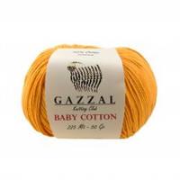 Gazzal Baby Cotton № 3416 оранж