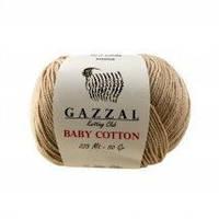 Пряжа Gazzal Baby Cotton 3424 для Ручного Вязания