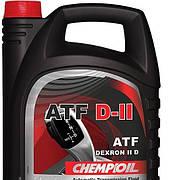 Универсальное  трансмиссионное масло  Chempioil ATF D II 4л