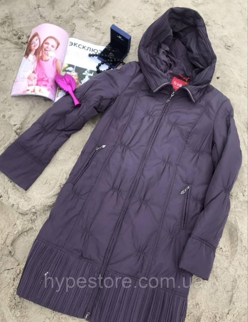 Удлиненная женская демисезонная куртка, пальто,полупальто