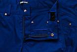 Шорты для мальчика коттон Cotton, синие (подростОК), фото 3