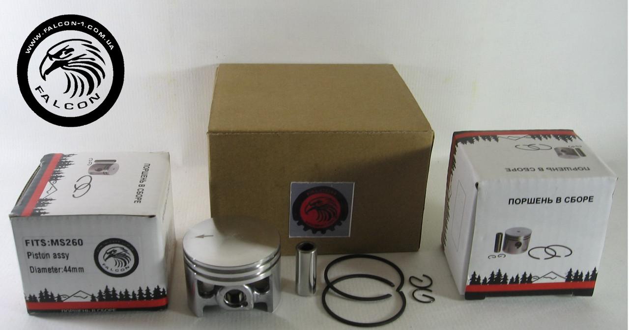 Поршень Stihl MS 026, MS 260, MS 260C  (11210302001) D=44 мм в сборе для бензопил Штиль