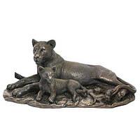 Коллекционная статуэтка Veronese Львица с львенком 74737A4