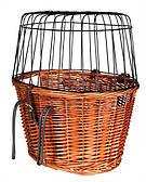 Сумка-корзина Trixie 2806 с решеткой для велосипеда для животных до 8 кг, 44х48х33