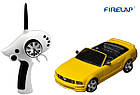 Автомодель р/у 1:28 Firelap IW02M-A Ford Mustang 2WD (желтый), фото 2