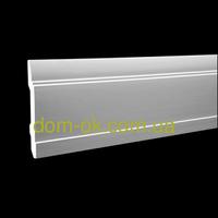 Плинтус Европласт из полиуретана, дюрополимера 1.53.102, высота 150мм дюрополимер
