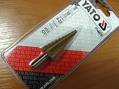 Конусное ступенчатое сверло 4-22 мм Yato YT-44741