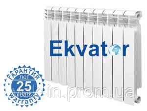 Радиатор биметаллический SUMMER (EKVATOR)75/500