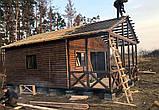 Дачный домик 6м × 8м, 2 этажа из блокхауса с террасами., фото 4