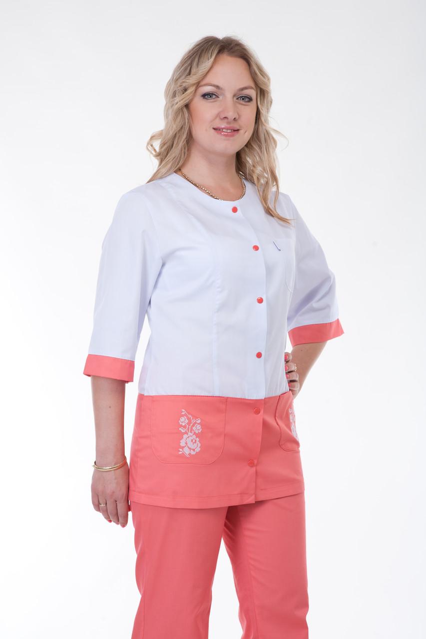 Медицинский женский костюм К-3229 ( коттон 40-56 р-р )