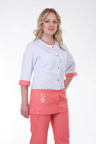 Медицинский женский костюм К-3229 ( коттон 40-56 р-р ), фото 2
