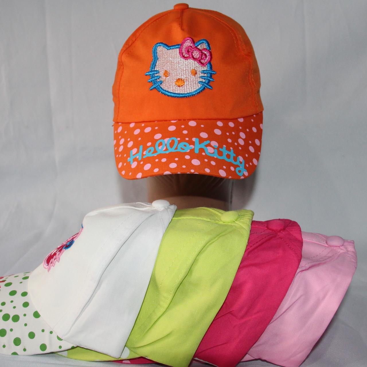 Кепка для девочек  р-р 52 (разные расцветки) оптом недорого. Одесса