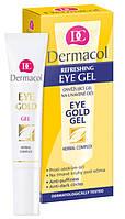Dermacol Eye Gold Gel - Освежающий гель для уставших глаз